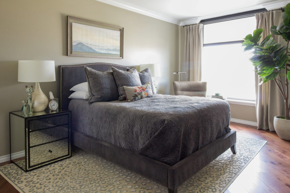 Transitional Chic Master Bedroom